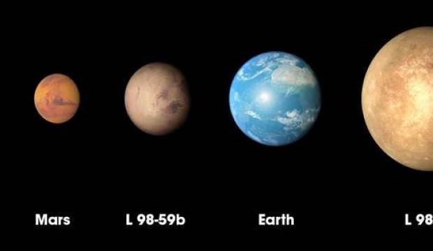 NASA duyurdu: Dünya'dan küçük, Mars'tan büyük
