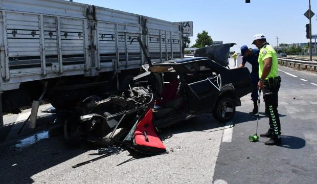 Hız kadranı 120'de kaldı: Tekirdağ'da feci kaza