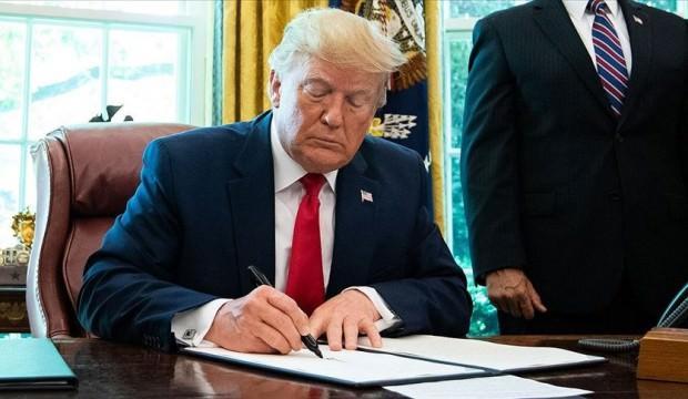 Trump imzaladı! Hedefte Hamaney de var!
