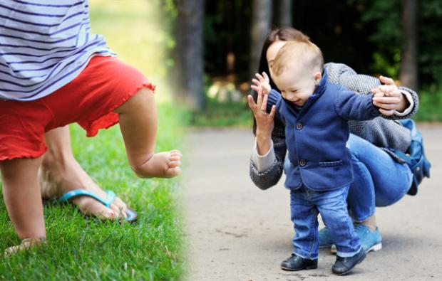 Bebeklerde yürüme alıştırmaları