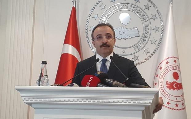 İçişleri Bakan Yardımcısı ve Bakanlık Sözcüsü İsmail Çataklı.