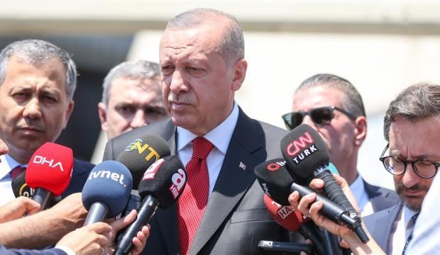Cumhurbaşkanı Erdoğan, Miçotakis'le telefonda görüştü