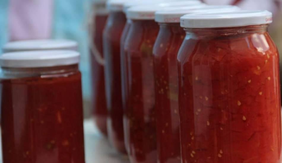 Evde domates konservesi nasıl yapılır?