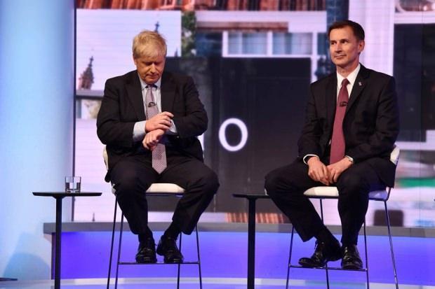 Boris Johnson ve Jeremy Hunt