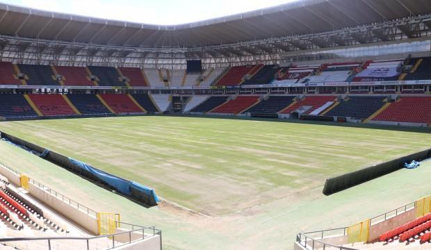 Gaziantep Stadyumu Süper Lig'e hazırlanıyor