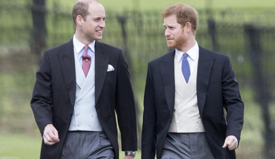 İngiltere basınından büyük iddia! Prens Harry ve William küs mü?