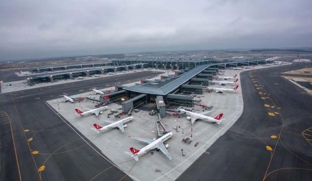İstanbul Havalimanı'nda 74 saniyede bir sefer yapıldı