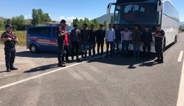 Kırklareli'nde 18 göçmen yakalandı
