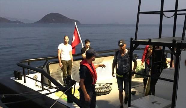 Muğla'da 10 göçmen yakalandı