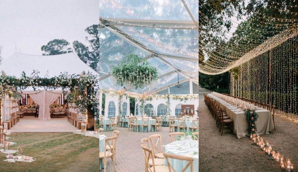 2019 yaz düğünlerine özel dekorasyon önerileri
