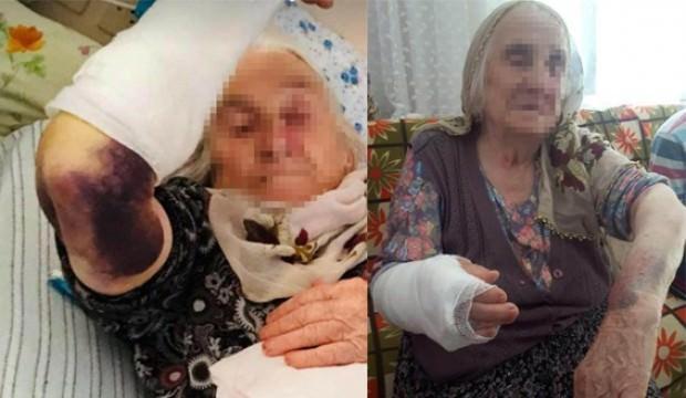 Gelin dehşeti: 92 yaşındaki kayınvalidesini sopayla dövdü