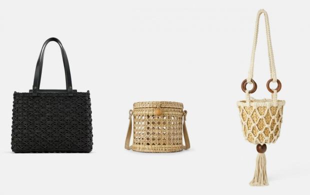 2019 hasır çanta modelleri