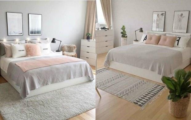 yatak odası dekorasyonu 2019
