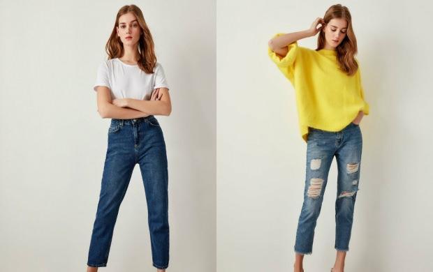 mom jeans trendyol