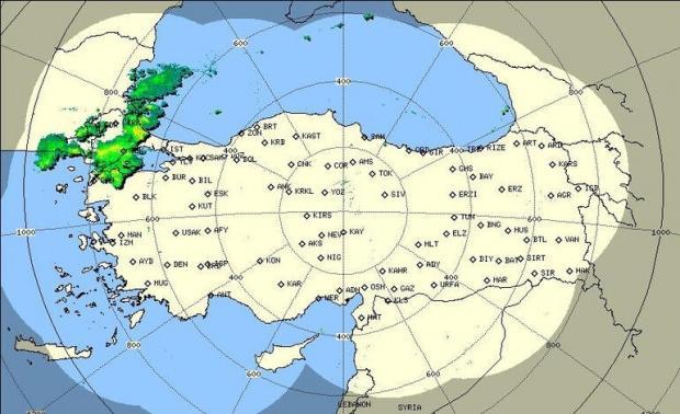 İşte son radar görüntüsü