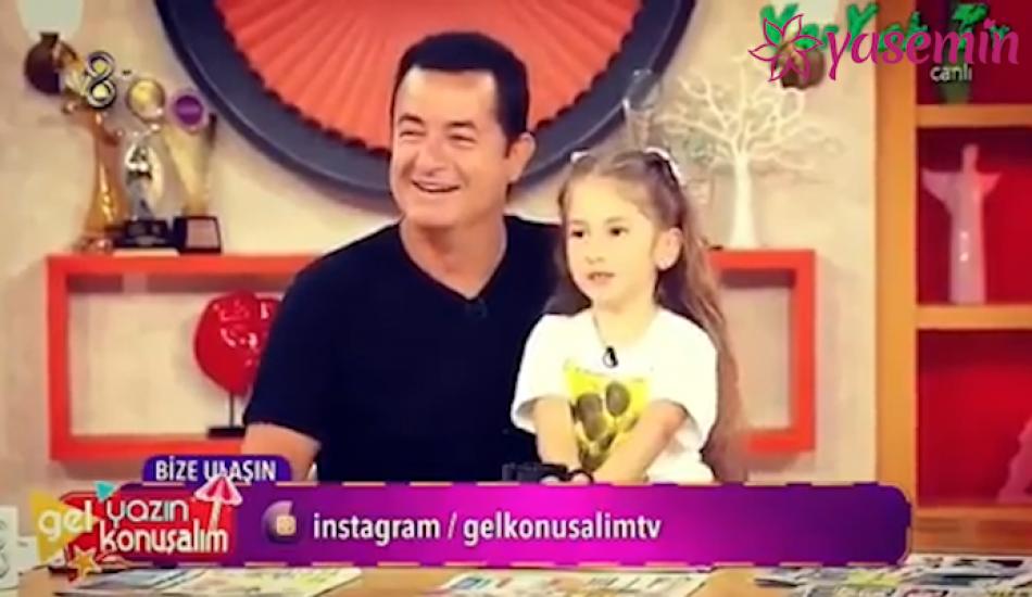Acun Ilıcalı'nın Şeyma Subaşı'ndan olan kızı Melisa rap şarkı söyledi