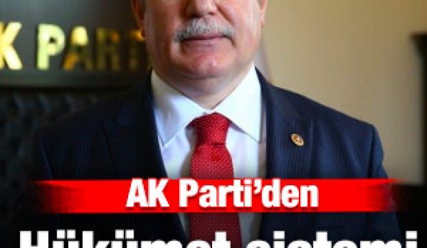 AK Parti Grup Başkan Vekili Akbaşoğlu'ndan hükümet sistemi açıklaması