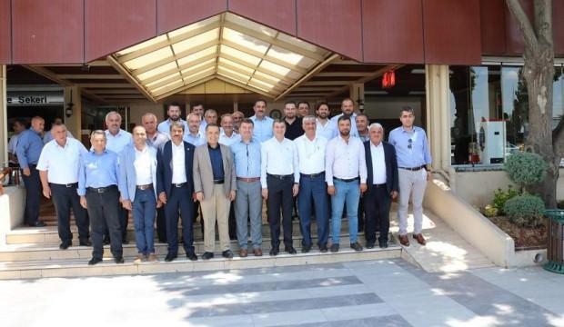 Cengiz Aydoğdu ve Ak Parti Başkanları toplantıda buluştu