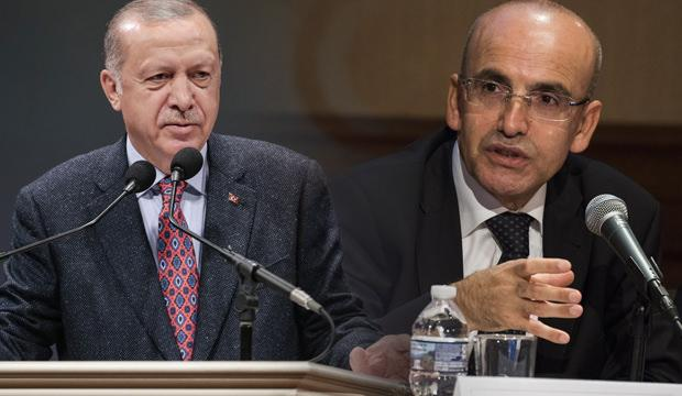 Cumhurbaşkanı Erdoğan ile Mehmet Şimşek arasında sürpriz görüşme