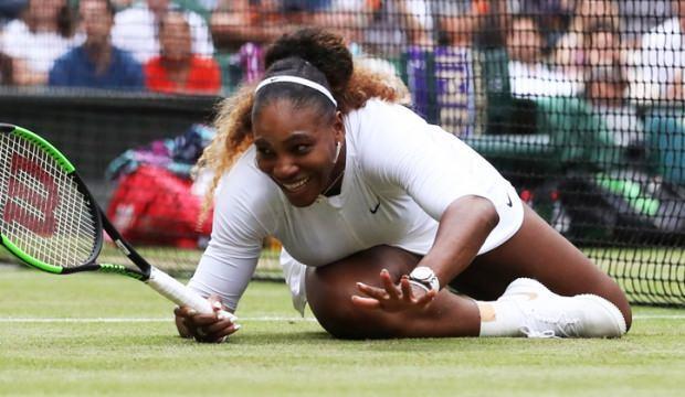 Serena Williams'a Wimbledon'da ceza!