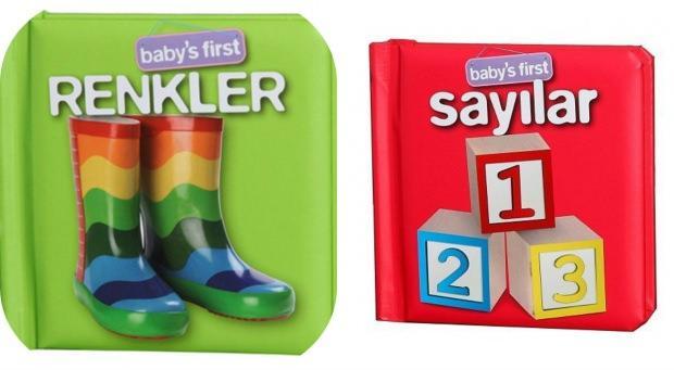 Renkleri ve sayıları öğreten kitaplar