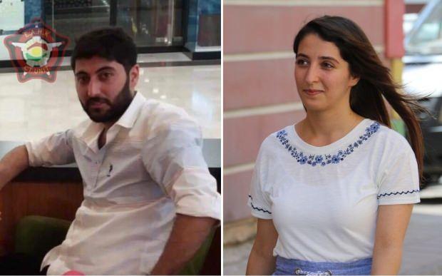 Erbil saldırısını gerçekleştiren terörist Mazlum Dağ ile kardeşi HDP Diyarbakır Milletvekili Dersim Dağ...