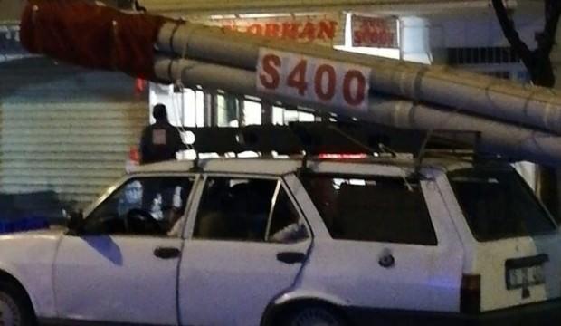Bursa caddelerinde görenler şaşkına döndü! S400...