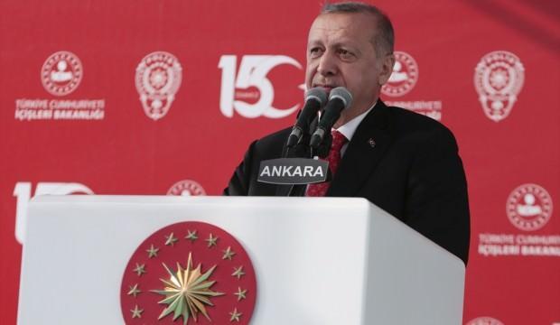 Erdoğan yeni binanın açılışında konuştu: Asla teşebbüs edemeyecekler