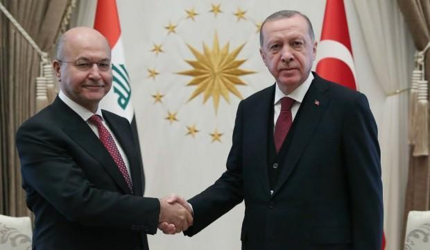 Irak'tan Cumhurbaşkanı Erdoğan'a taziye telefonu
