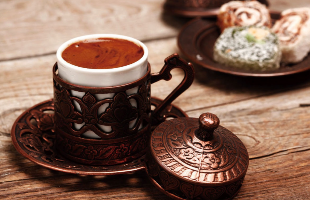 how to make a diet of Turkish coffee