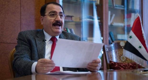 Suriye'nin Moskova Büyükelçisi Riyad Haddad...