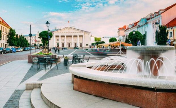 Litvanya'nın başkenti Vilnius