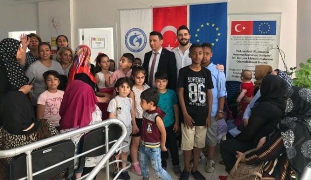 Aksaray Göç İdaresi Müdürlüğü 18 bin göçmenin adresi oldu