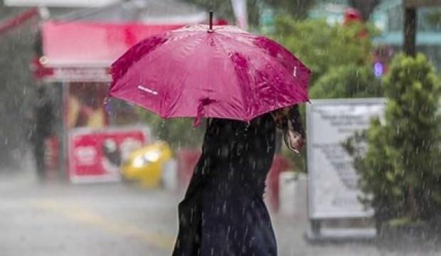 3 il için sağanak yağış uyarısı