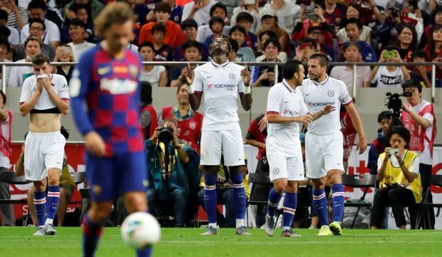 Dev maçta Chelsea, Barcelona'yı devirdi