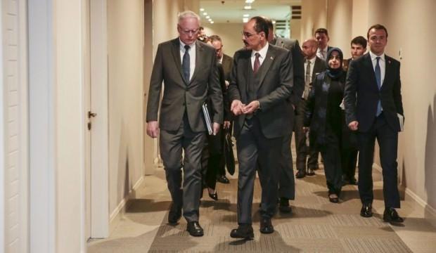 Beştepe'deki görüşme bitti! ABD ve Türkiye'den peş peşe açıklamalar