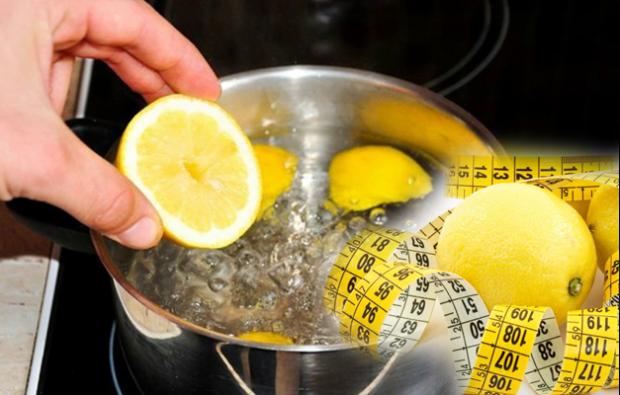 Haşlanmış limon diyeti ile kilo verme