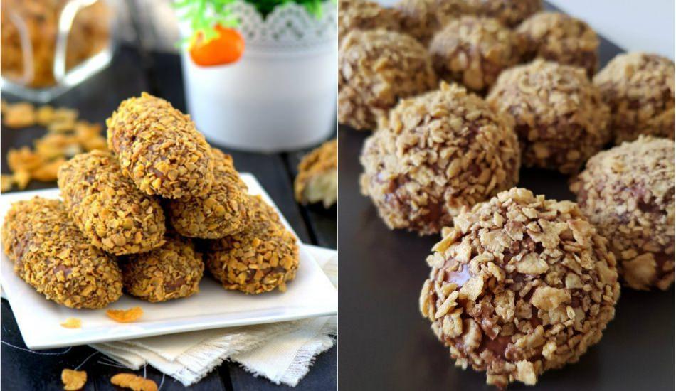 Nefis mısır gevrekli kurabiye tarifi