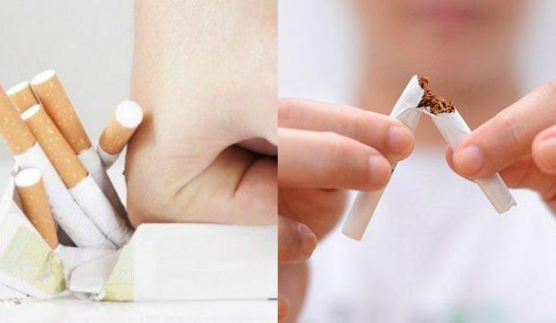 Alternatif sigara bırakma yöntemleri: Sigarayı bırakmak için mucize yollar