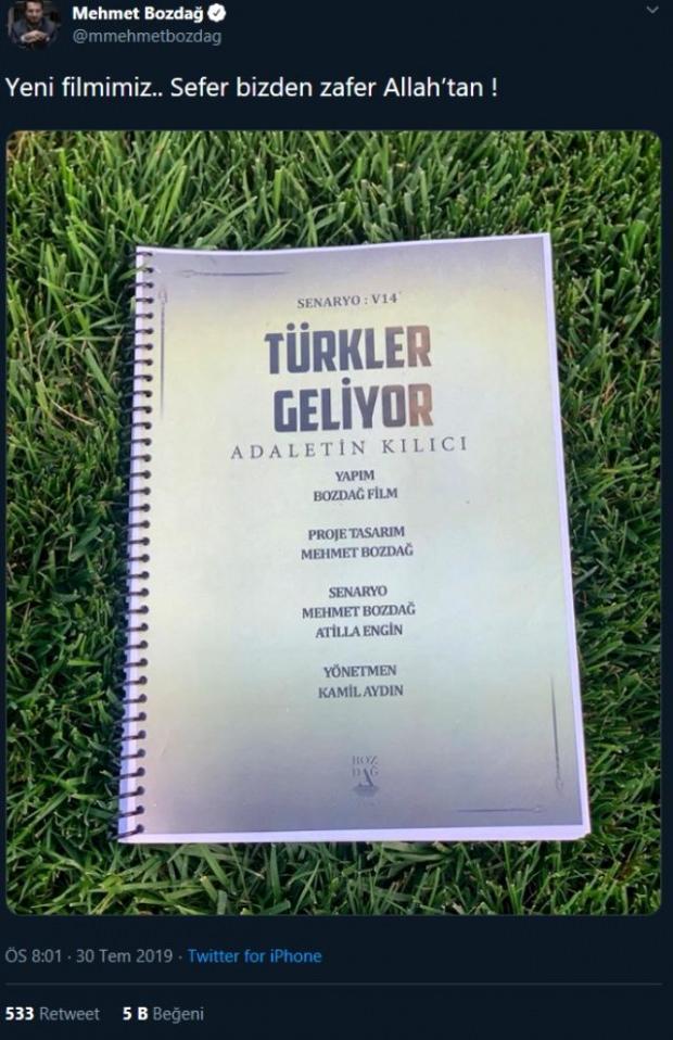 türkler gelkiyor