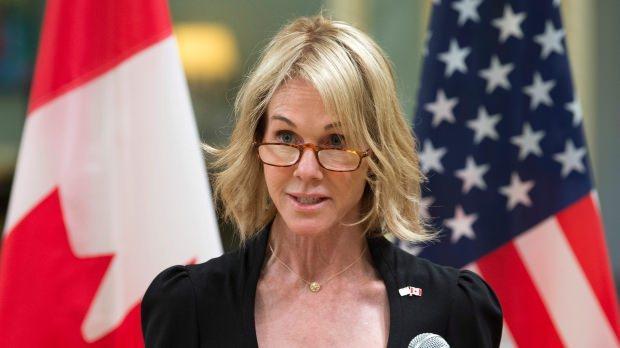 Craft, ABD'nin Kanada Büyükelçiliği görevini yürüüyordu