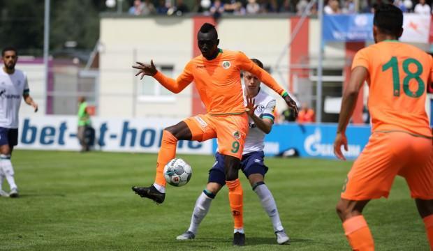 Alanyaspor Schalke'ye kaybetti
