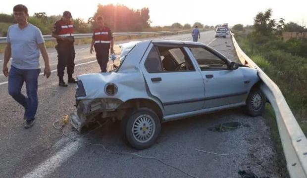 Bu otomobilden 4 kişi sağ çıktı
