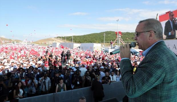 Erdoğan'dan tarihi açılış! İstanbul-İzmir arası artık 3,5 saat