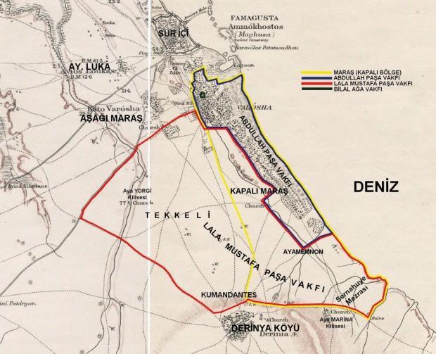Maraş'ın vakıf bölgeleri