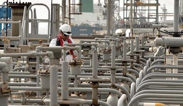 Suudi Arabistan'ın petrol ihracat tutarı azaldı