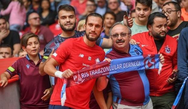 Trabzonsporlular Yusuf'u ilk maçında yalnız bırakmadı