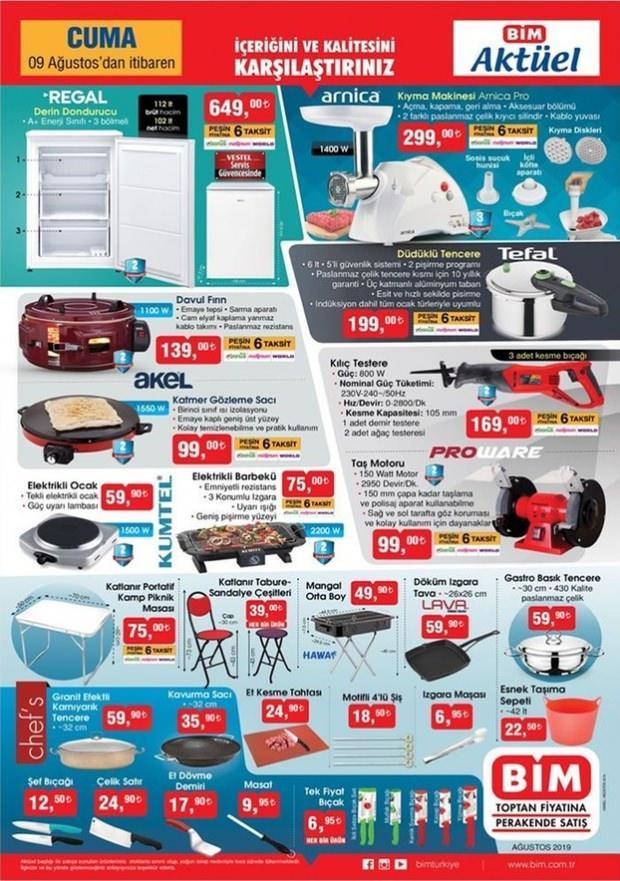 BİM Aktüel ürünler Kataloğu