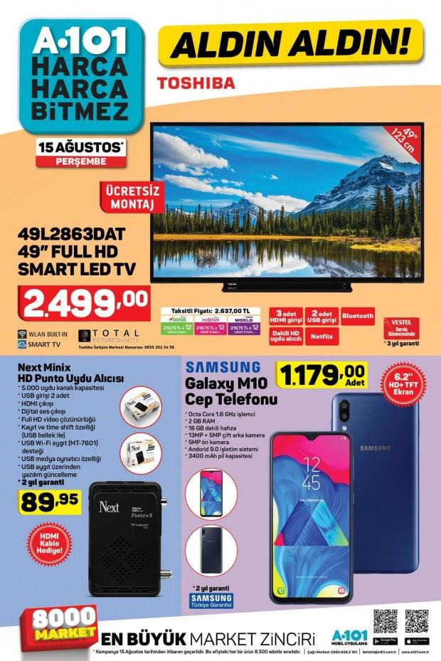 A101 Catalog of current products