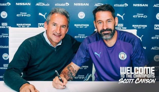 Bursaspor'un eski kalecisi Manchester City'de